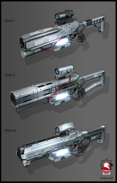 ArtStation - Xenonauts 2 plasma rifle, Kris Thaler http://riflescopescenter.com/category/leupold-riflescope-reviews/