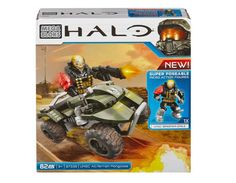 Black Friday 2014 Mega Bloks Halo UNSC All-Terrain Mongoose from Mega Bloks Cyber Monday. Black Friday specials on the season most-wanted Christmas gifts. Halo Lego Sets, Lego Halo, Call Of Duty Toys, Halo Mega Bloks, Halo Collection, Mega Blocks, Naruto, Hasbro Transformers, Popular Toys