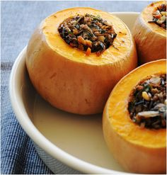 7 Recipes For A Whole Stiffed Pumpkin