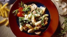 Leftover chicken or turkey?  Make a sensational pasta dish.