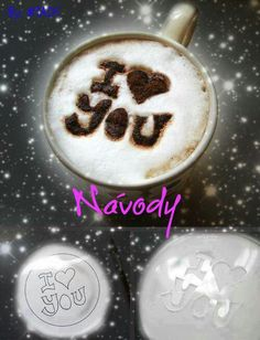 I love you in coffee