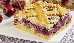 S dávkou geometrie: Mriežkovaný koláč   DobreJedlo.sk