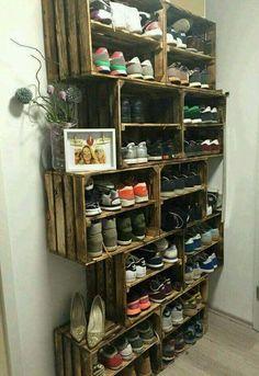 Zapatos ordenados