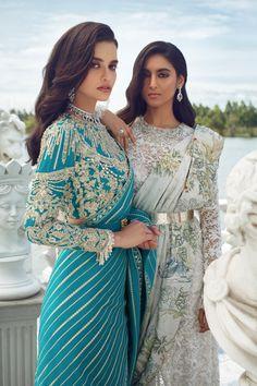 Indian Dress Up, Indian Fashion Dresses, Indian Designer Outfits, Indian Outfits, Fashion Outfits, Ladies Fashion, Pakistani Bridal Dresses, Shadi Dresses, Asian Wedding Dress