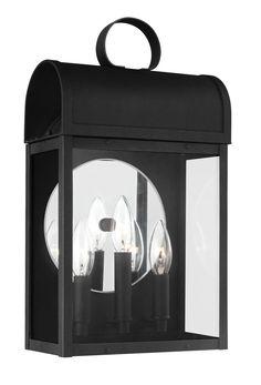 Conroe 3 Light Outdoor Wall Lantern