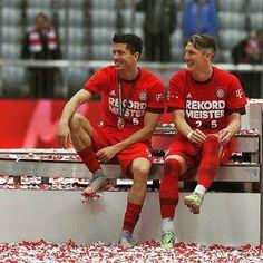 Lewandowski & Schweinsteiger