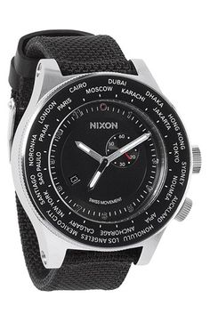 Nixon 'The Passport' Watch, 49mm available at #Nordstrom