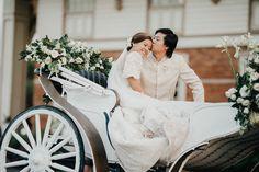 You Will Fall in Love with This Regal Filipiniana Wedding in Bataan! Modern Filipiniana Gown, Filipiniana Wedding Theme, Wedding Prep, Wedding Blog, Wedding Planning, Wedding Stuff, Luxury Wedding, Dream Wedding, Wedding Dreams