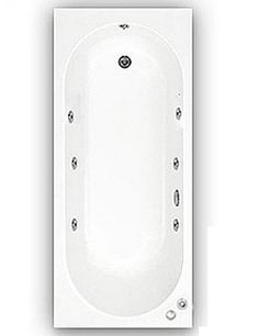 Special Offer R.R.P £593.98 Offer Price £349.001700mm Trojan Cascade Whirlpool Bath + Chromotherapy LightKey Features:-1700 x 700 White Acrylic Bath6 Jet Whirlpool System with Chrome Jets and ControlsChromotherapy Underwater LightFree Delivery Available to most postcodesLimited numbers available.As one of the largest manufacturers of acrylic baths in the UK, Trojan take unprecedented pride in each one of their baths.All the way from design, production and finally to the launch of a new bath…