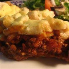 Greek Baked Pasta (Pastitsio) @ http://allrecipes.com.au