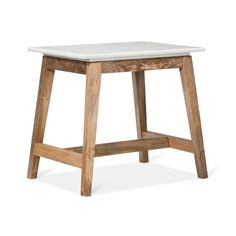 Love this for the living room as a side table! Lanham Accent Table with White Marble Top - Target Threshold