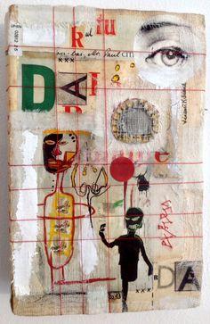 "Livre tableau ""Dada"" Création Véronïk Beaucé 2013"