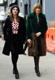 New York Fashion Week 2014: Anna Wintour met dochter Bee Shaffer
