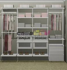 New Closet 05 - 2,50 x 0,60 m BRANCO