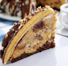 Pancho - Super banánová torta.
