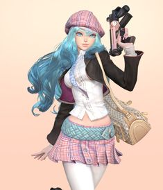 south korea 3D character artist