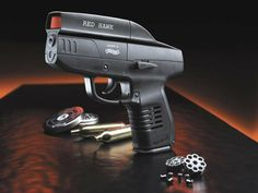 Umarex Walther Red Hawk, 360 fps, 110 m/s, double action,integrated red dot, 8 rounds magazine, .4,5 mm (.177) CO2 Air Gun