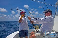 Fun while sport fishing