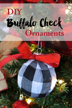 DIY Buffalo Check Pl