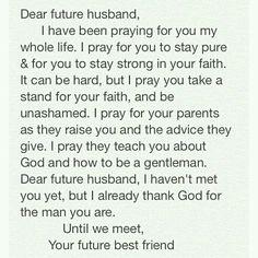 50 Best Dear Future Husband Images Dear Future Husband Amor Faith