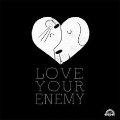 Love Your Enemy on Flickr.Doodle Everyday 113 by Lim Heng Swee