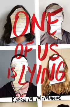 Cover Reveal: One of Us is Lying by Karen M. McManus - On sale May 30, 2017! #CoverReveal
