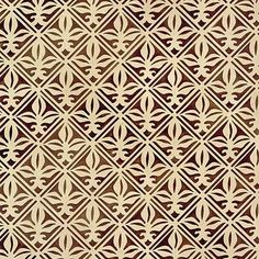 The Tulip Tiles Furniture Stencil is an allover pattern similar to that of a fleur de lis lily in French design. Your painted furniture will elude a classic European look with this stencil pattern. -