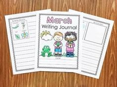 March Writing Journa