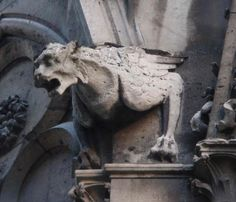Notre Dame de Paris Gargoyle