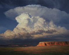 """Rain Storm at Red Mesa""  John Cogan-Paintings"