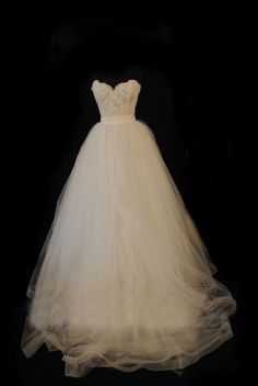 Exquisite Lace Aline Sweetheart Neckline Sweep Train by lucksell, $229.00