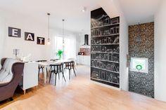 Eklektyczne mieszkanie pod Warszawą
