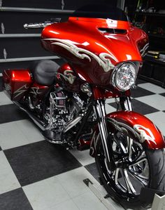 2015 Street Glide Special Custom Metallic Candy Red