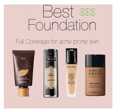 """""""Best of sephora foundation"""" by claudiaa-bella on Polyvore featuring beauty, tarte, Kat Von D, MAKE UP FOR EVER and Lancôme"""
