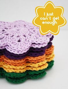 Crochet coasters @Brenley W W W W W W W Devlin I want some;)