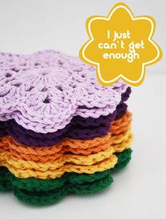 Crochet coasters @Brenley W W W W W W W Devlin I want some;)