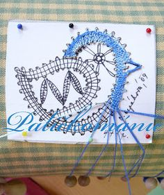 Paličkománie Bobbin Lace Patterns, Embroidery Patterns, Hand Embroidery, Irish Crochet, Crochet Lace, Bobbin Lacemaking, Bird Applique, Point Lace, Needle Lace