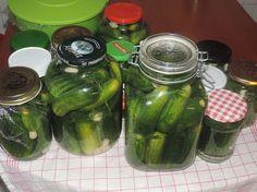 Koche es nach!! - Ezt is főzd meg!! : Polnische Salzgurken -Lengyel sós uborka