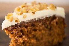 Low carb food processor carrot cake