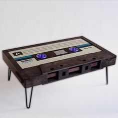 Classic Cassette Tape Coffee Table (60mins)