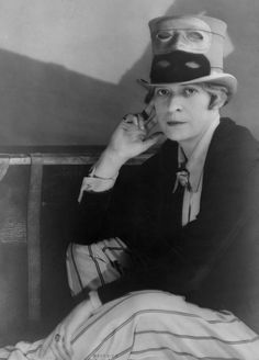 Janet Flanner, c1927 (Bernice Abbott)