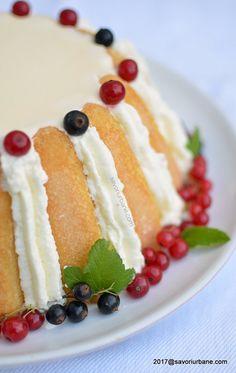 Tort Diplomat cu piscoturi si frisca reteta clasica   Savori Urbane Romanian Food, Cheesecake, Good Food, Sweets, Cooking, Desserts, Christmas, Recipes, Deserts