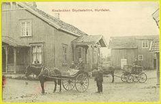 Hurdal Knaibakken skydsstasjon ca. 1900 Romerike Akershus fylke