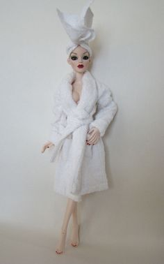 Bath Time Parnilla Ghastly Wilde Imagination Doll Evangeline Spa Bathrobe Towel #DollswithClothingAccessories