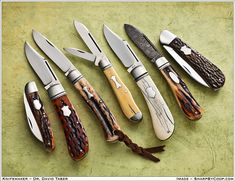 Photos SharpByCoop • Gallery of Handmade Knives - Page 21  Dr. David Taber = Approved!