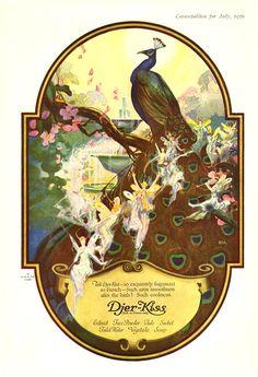 Djer-Kiss, 1920 advertisement/label