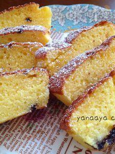 焼くまで5分‼超簡単美味しいクリームチーズのパウンドケーキ