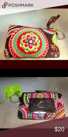 Vera Bradley ID/Card holder Brand new with tags !! Vera Bradley Accessories Key & Card Holders