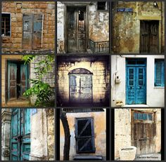 wooden-door-of-an-old-abandoned-house-love-Lebanon-by-Elie roro Machaalani