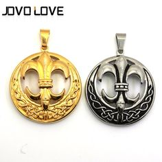 Stainless Steel Fashion Jewelry Cute Circle Triangle Eminem Pendants Necklace
